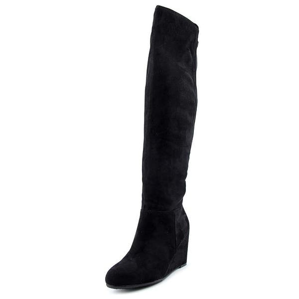 4d1e325c1941 Chinese Laundry Z Unforgettable Women Synthetic Black Over the Knee Boot ...