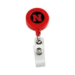 Nebraska Cornhuskers Retractable Badge Reel Id Ticket Clip NCAA