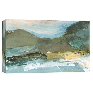 """PTM Images 9-101912  PTM Canvas Collection 8"""" x 10"""" - """"Landscape Study 6"""" Giclee Mountains Art Print on Canvas"""
