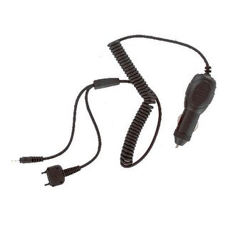 Sony Ericsson Car Charger & Bluetooth Adapter Cable for Sony Ericsson Z520 (Blac