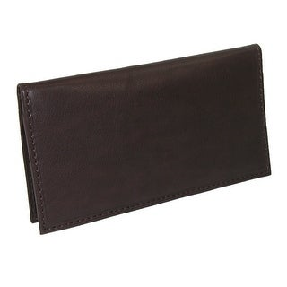 Paul & Taylor Leather Card Holder and Checkbook Cover Wallet - One Size
