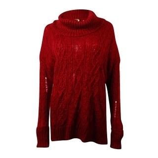 Free People Women's Complex Cowl-neck Sweater