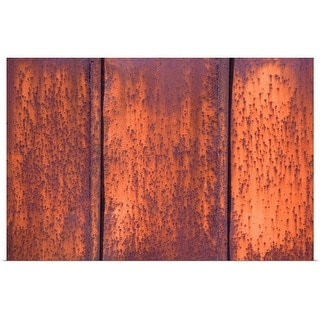 """oxidation on metal"" Poster Print"