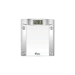 conair WW44NS Conair WW44 Weight Watchers Chrome Glass Scale