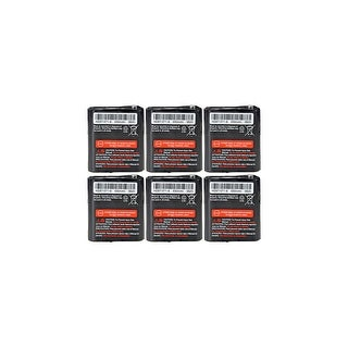 Replacement Battery For Motorola FRS-009 / FV500 2-Way Radios - 53615 (650mAh, 3.6V, NiMH) - 6 Pack