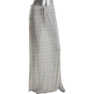 Joie Womens Molimo Knit Printed Maxi Skirt - M