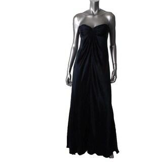 Laundry by Shelli Segal Womens Formal Dress Silk Strapless - 6