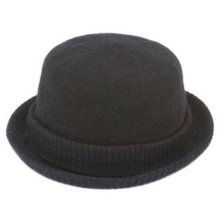 bf723b98ea98d Shop Womens Cuffed Winter Bowler Hat - Free Shipping On Orders Over  45 -  Overstock - 22809500