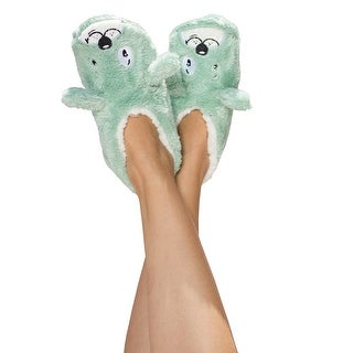 Women's Animal Footie Slippers - Dog Tired