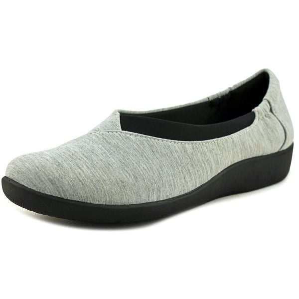 Clarks Sillian Jetay Women Light Grey Flats