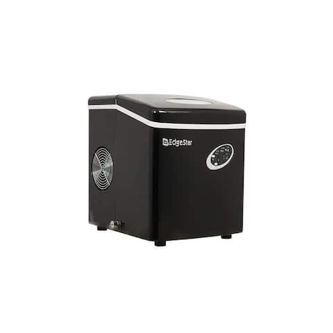 """EdgeStar IP210 12"""" Wide 2.5 Lbs. Capacity Portable Ice Maker with 28 Lbs. Daily Ice Production"""