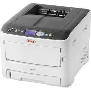 Okidata - Printers Ethernet Color Laser Print with USB - C612dn