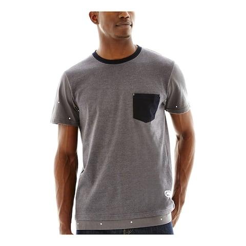 Ecko Unltd. Mens Pocket Dot Graphic T-Shirt