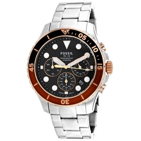 Fossil Men's FB-03 Black Dial Watch - FS5768 - One Size