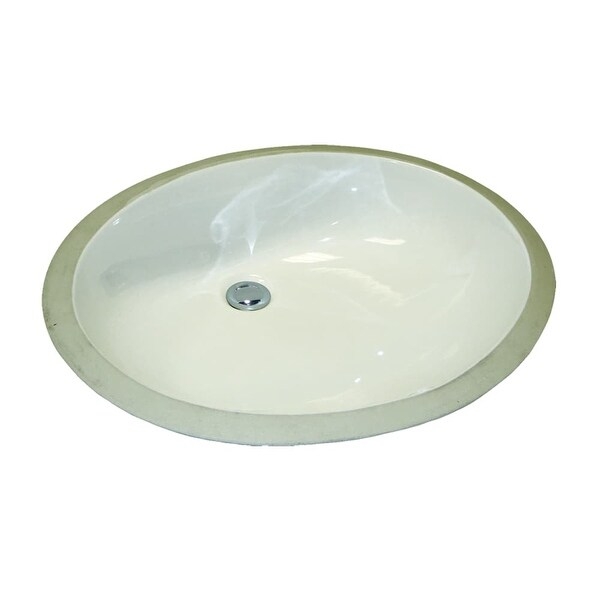 Mirabelle Miru1915 21 1 4 Porcelain Undermount Bathroom Sink With Overflow