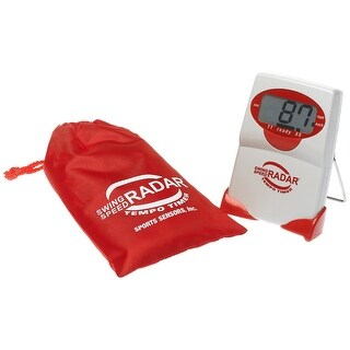 New Sports Sensors Red Swing Speed Radar Tempo Timer
