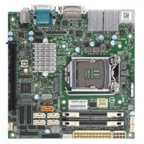 Supermicro MotherBoard MBD-X11SCV-Q-O Core i7/i5/i3 Q370 LGA1151 32GB DDR4 PCI Express Mini-ITX Retail