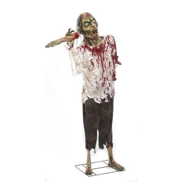 Deluxe Standing Out On A Limb Zombie Halloween Prop Decoration
