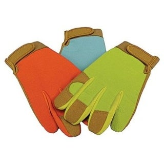 Boss 783 Leather Palm Synthetic Gloves, Velcro Cuff