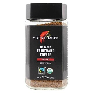 Organic Instant Coffee - Freeze Dried, 3.53 oz - Pack of 6