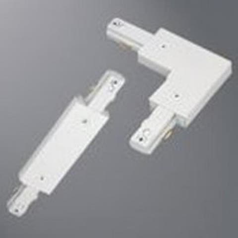 Regent LZR000203P Track Lighting Connector, White