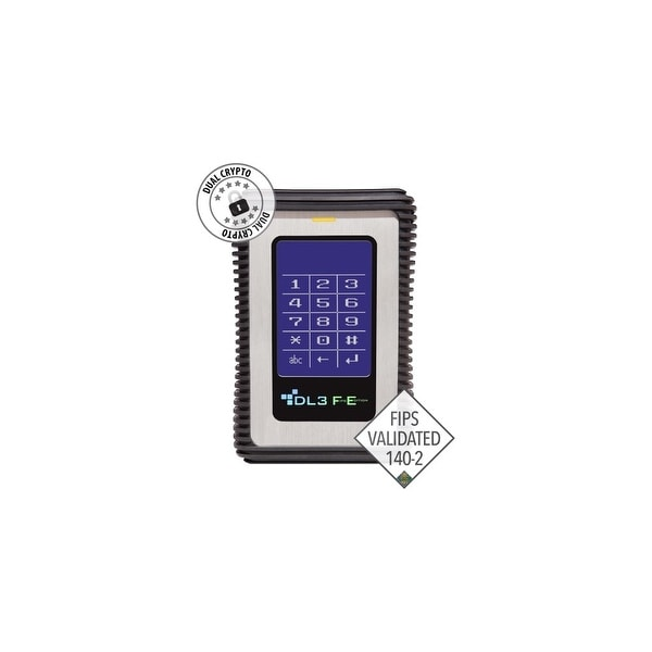 DataLocker FE1000RFID DataLocker DL3 FE (FIPS Edition) 1 TB Encrypted External Hard Drive with RFID Two-Factor Authentication -