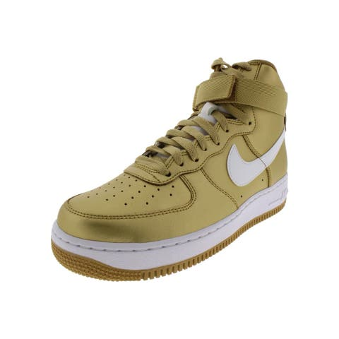 Nike Mens Air Force 1 High Retro Fashion Sneakers Metallic High Top
