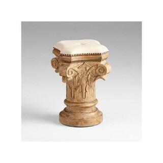 "Cyan Design 5294 16"" Decorative Stool - limed gracewood - N/A"