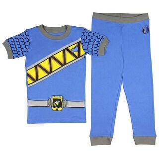 Intimo Kids Mighty Morphin Power Rangers Dino Charge Costume Pajama Set