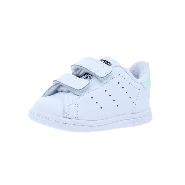 uk availability 2250c d5ffb Shop Adidas Girls Stan Smith CF I Casual Shoes Iridescent ...