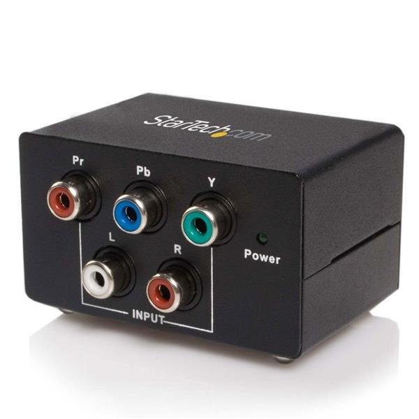Startech - Cpnt2vgaa Ypbpr Component To Vga Videonconverter - black