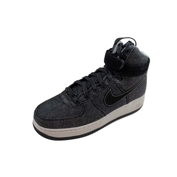 410f9109446c9 Shop Nike Women's Air Force 1 Hi SE Black/Dark Grey-Cobblestone ...