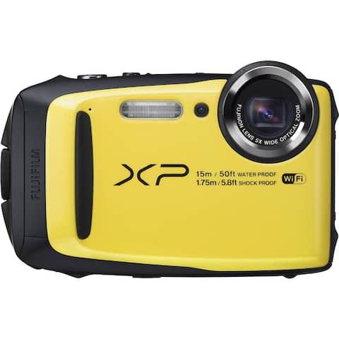 Fujifilm - FinePix XP Series XP90 Digital Camera - Yellow