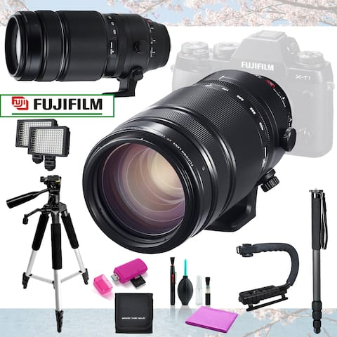 Fujifilm XF 100-400mm f/4.5-5.6 R LM OIS Lens Basic Bundle + 11pc Acc