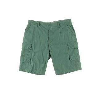 Calvin Klein Jeans Mens Cotton Flat Front Cargo Shorts