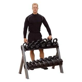 Body Solid Dumbbell / Kettlebell Rack