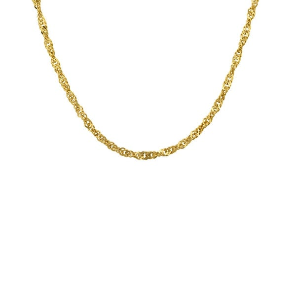 Just Gold Perfectina Chain in 14K Gold - Yellow