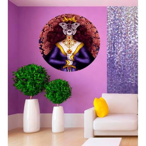 Fairy princess Wall Decal, Fairy princess Wall sticker, Fairy princess wall decor