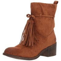 Billabong Womens monroe Fabric Almond Toe Ankle Fashion Boots