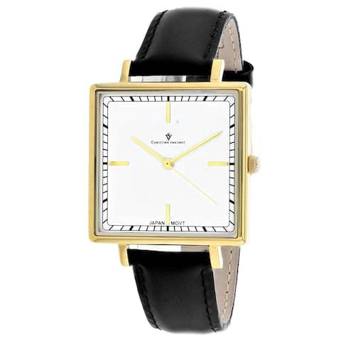 Christian Van Sant Women's Callista White Dial Watch - CV0412 - One Size