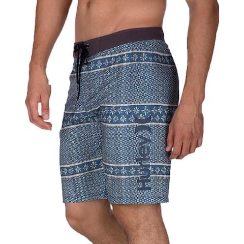 Hurley Mens Vibes 2.0 Printed Swim Trunks Board Shorts