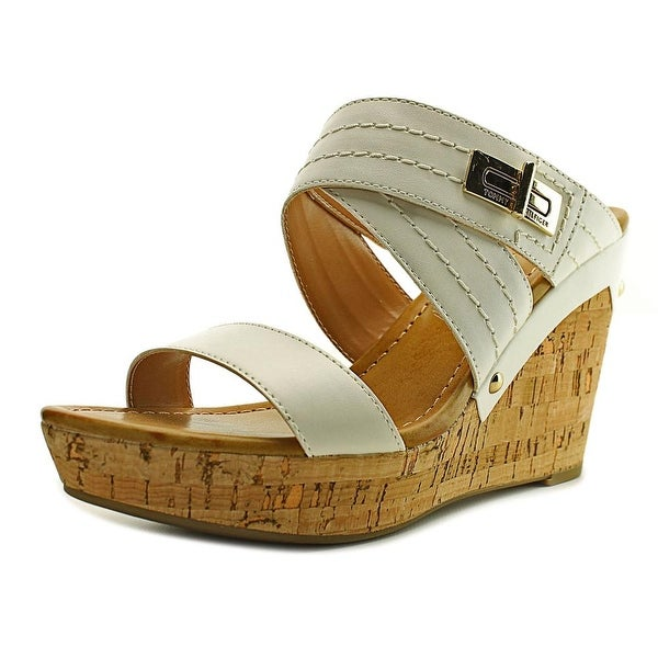 f4693bb11dec Shop Tommy Hilfiger Mili 2 Women Open Toe Synthetic White Wedge ...