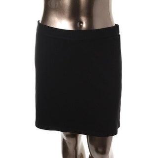 Studio M Womens Stretch Pull On Mini Skirt