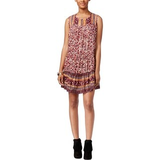 Lucky Brand Womens Casual Dress Woven Printed - s
