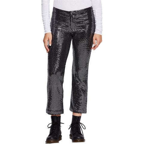 Free People Womens Shine On Casual Trouser Pants