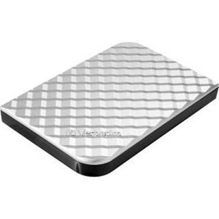 Verbatim 1Tb Store 'N' Go Portable Hard Drive, Usb 3.0, Diamond Silver 99373