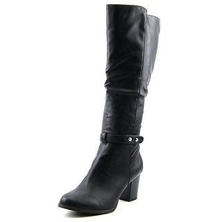 Style & Co Geanita Women Round Toe Synthetic Knee High Boot