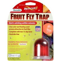 Rescue FFTR-SF6 Reusable Fruit Fly Trap