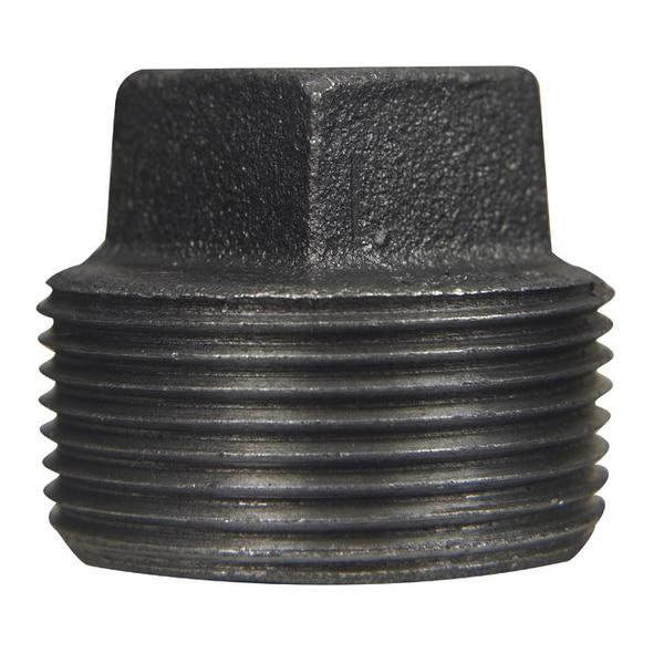 Mueller 521-806BG Black Iron Plug 1-1/4 Fip