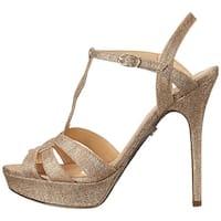 Nina Womens Marzia-YF Open Toe Ankle Strap Platform Pumps